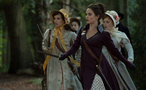 The sisters cross a dangerous woods