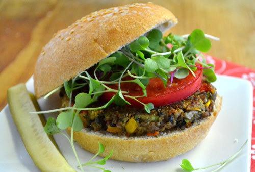 Veggie Burgers are the perfect Meat-Free Alternative
