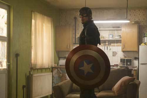 Cap looks for Bucky Barnes