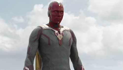 Vision during the battle