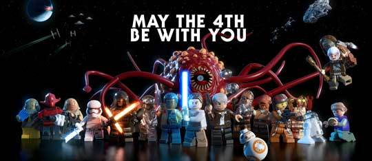 May the 4th Be With You! New LEGO Star Wars: The Force Awakens Trailer
