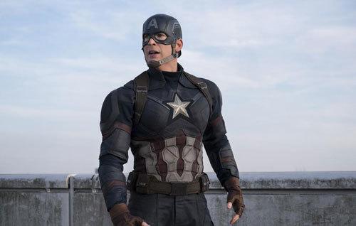 Captain America prepares for battle
