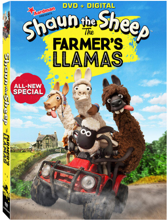Shaun the Sheep The Farmers Llamas DVD Cover