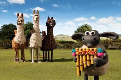Pan pipes make llamas controllable