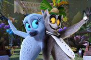 All Hail King Julien Season 3 Exclusive Clip | Competitive Tramping