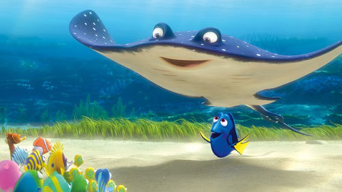 Dory is teaching assistant to Mr. Ray
