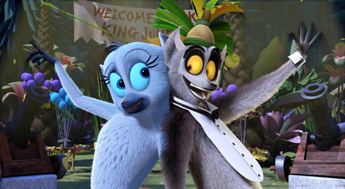 Karen and King Julien relive their glory days on the dance floor