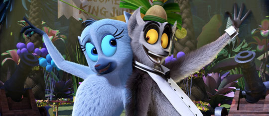 All Hail King Julien Season 3 Exclusive Clip   Competitive Tramping