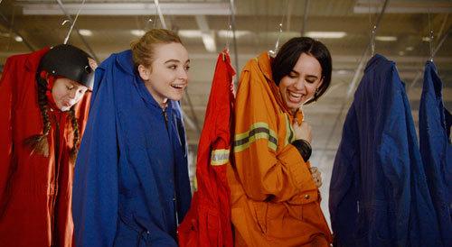 The clothes hangar stunt