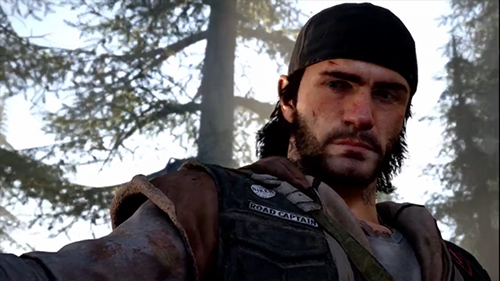 Our new hero in the post-apocalyptic game: Days Gone.