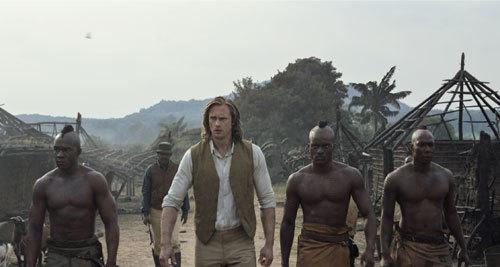 Tarzan back in the village