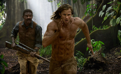 Williams has trouble keeping up with Tarzan