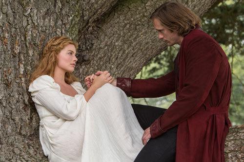 Jane and Tarzan in love