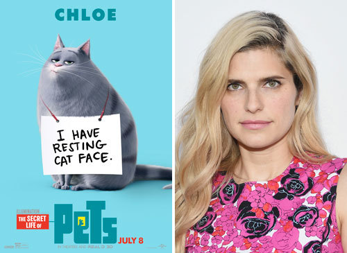 Lake Bell voices fat cat Chloe