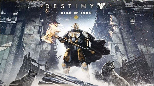 The recently leaked Destiny expansion, Rise of Iron.