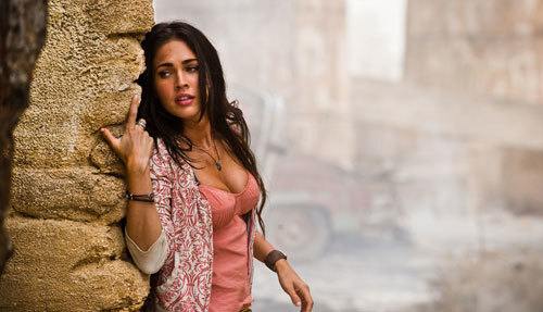 Megan Fox as Mikaela Banes in Transformers