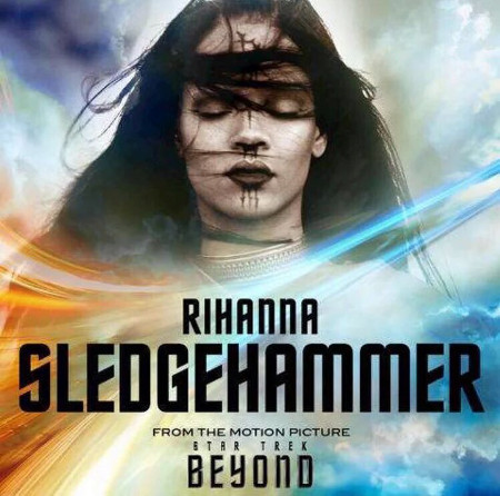 Rihanna gets spacey in Sledgehammer