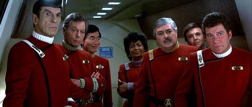 The cast of the original Star Trek