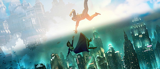 Return to Rapture or Columbia with BioShock: The Collection.