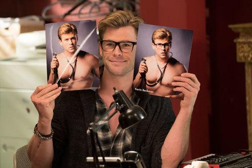 Chris Hemsworth as wacky Kevin