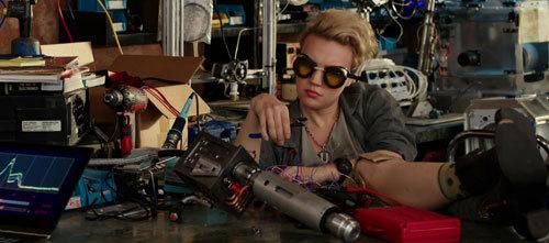 Jillian works on more ghostbusting weaponry