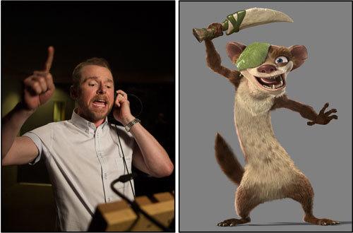 Simon Pegg voices Buck