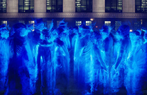 The ghosts gather