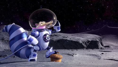 One small step for Scrat in space