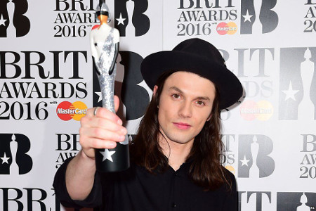 James Bay won a Brit Award in 2016
