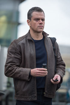 An exhausted Bourne tries to stay alive