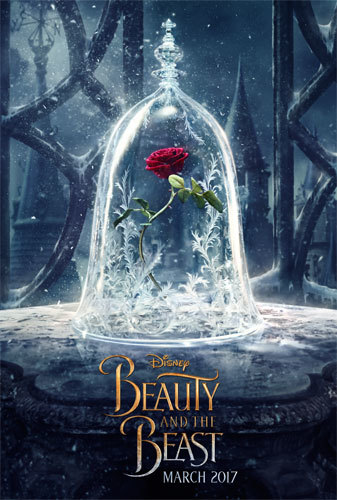 The Teaser One-Sheet for Disney's Beauty and the Beast