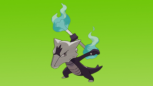 Marowak gains a new weapon in the Alolan region.