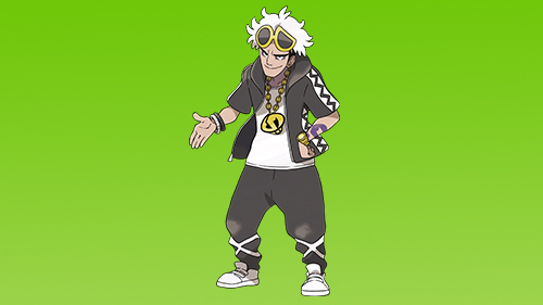 Guzma is the leader of Team Skull