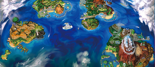 The Alola Region is full of new Pokémon and Villains.