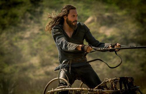 Judah Ben-Hur riding the chariot