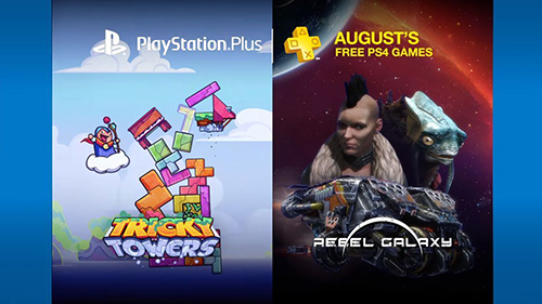 Tricky Towers and Rebel Galaxy make their way to PlayStation Plus.