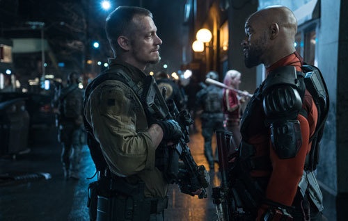 Deadshot talks to Rick Flag