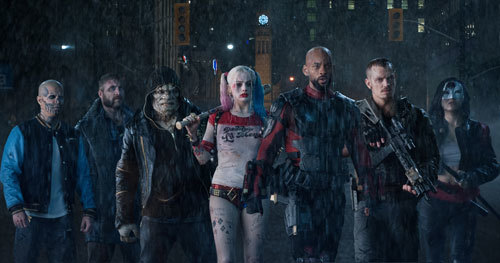Most of the Suicide Squad