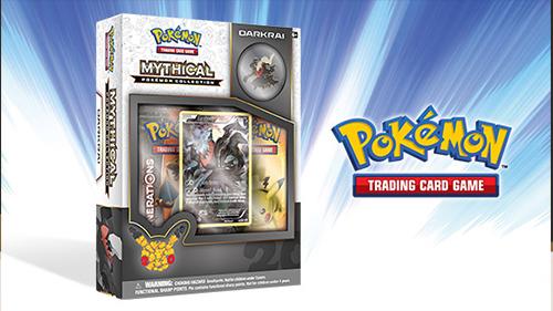Darkrai's new Mythical card pack!