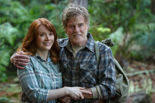 Grace (Bryce) and dad (Robert Redford) have a loving relationship