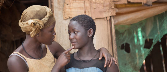 Queens of Katwe: Lupita Nyong'o and Madina Nalwanga