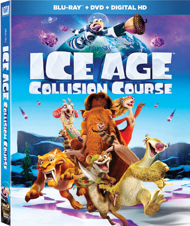 Ice Age: Collision Course Blu-ray