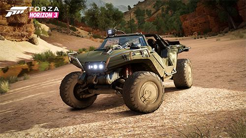 Halo's Warthog comes to Forza Horizon 3 as free DLC.