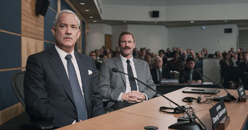 Sullenberger and Skiles at the last NTSB hearing
