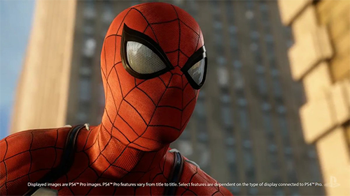 The new Spider-Man game will take advantage of the PlayStation 4 Pro's power.