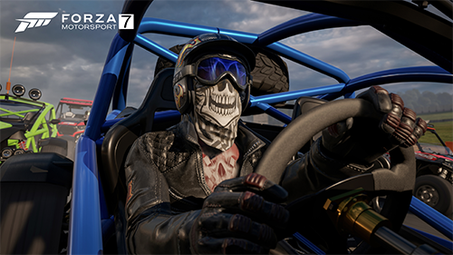 Drivers have more customization options than the Forza spinoff.