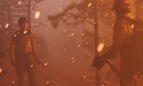 Brendan (Miles) in the embers