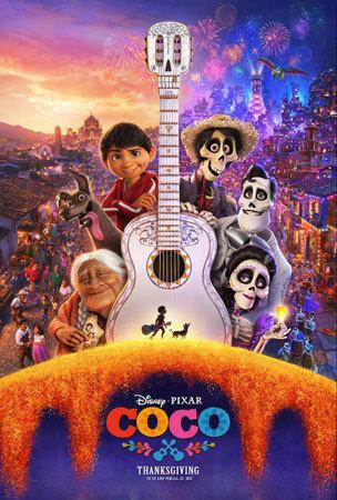 Disney•Pixar's Coco Movie Poster