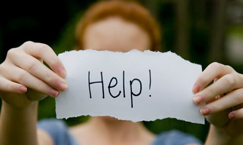 Raising awareness can let people know how to find help.