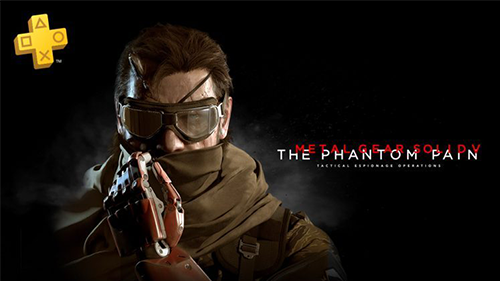 Metal Gear Solid V highlights Plus this month.